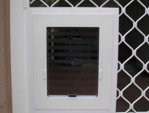PRESTIGE PET SECURITY SCREEN PET DOOR - STANDARD SIZE ...