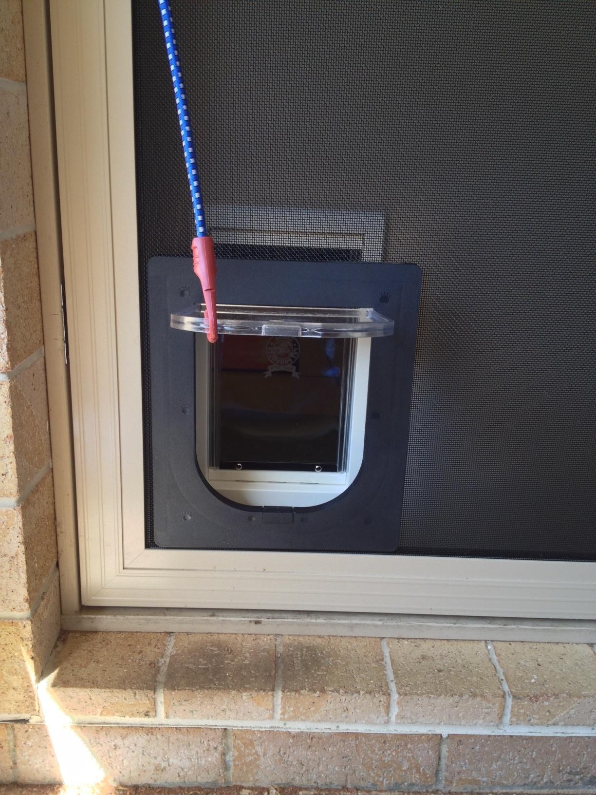 Petway Access Door Standard Size Black