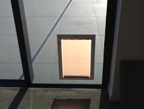 Medium Staywell Aluminum Pet Door Australiapetdoors Com Au