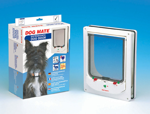 PETMATE (SMALL DOGMATE / LARGE CATMATE) ELECTROMAGNETIC PET DOOR – STANDARD SIZE
