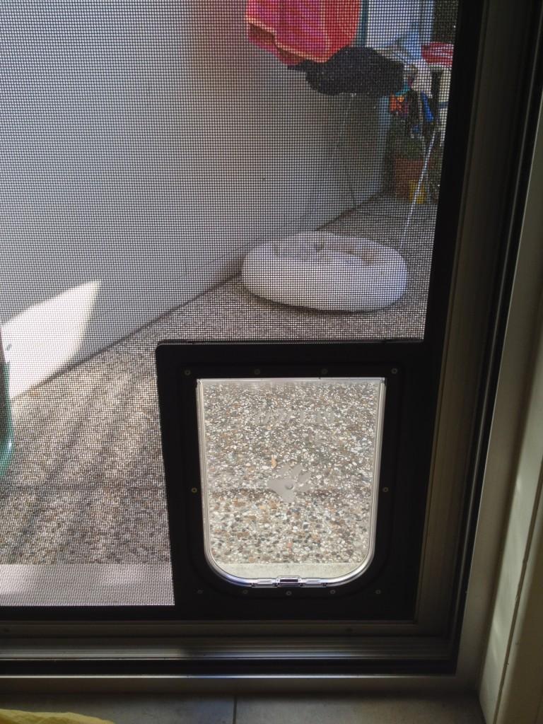 Petway Access Door Medium Size Brown