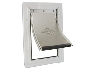 STAYWELL ALUMINIUM PET DOORS WITH FLEXIBLE FLAP – STANDARD SIZE