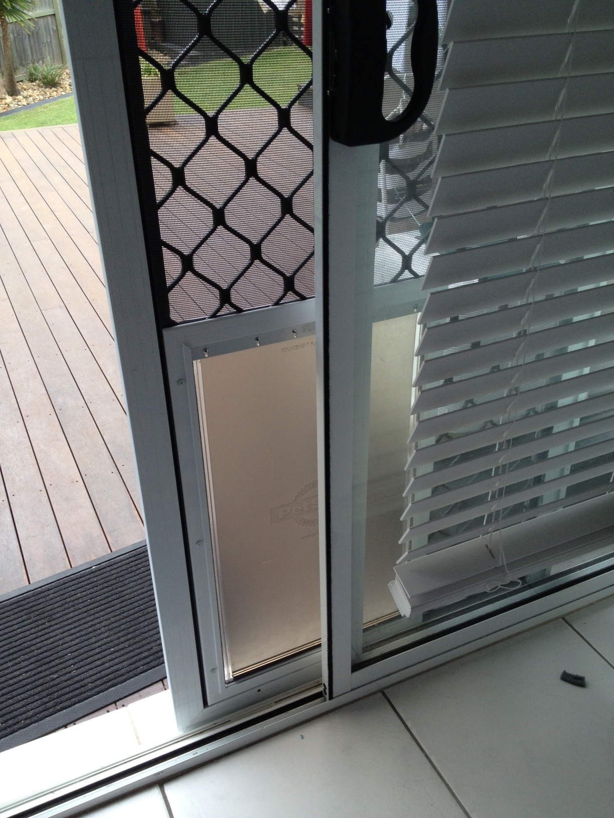 Extra Large Aluminum Pet Door Australiapetdoors